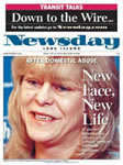 Dr. Jacono's pioneering facial reconstructive surgery was featured on the frontpage of Newsday. | NYC