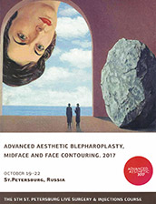 Dr. Jacono attends the Advanced Aesthetic Blepharoplasty Midface and Face Contouring Meeting in St. Petersburg Russia 2017